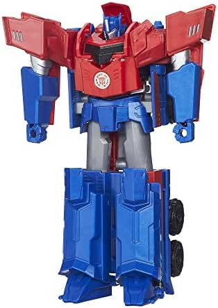 Transformers Robots in Disguise 3-Step Changers Optimus Prime Figure(Discontinued by manufacturer)