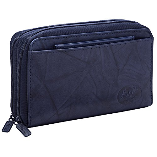 Buxton Heiress Double-Zip Organizer - Buxton Wallets Ladies