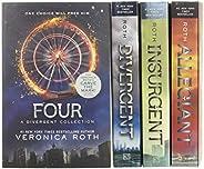 Divergent Series Four-Book Paperback Box Set: Divergent, Insurgent, Allegiant, Four