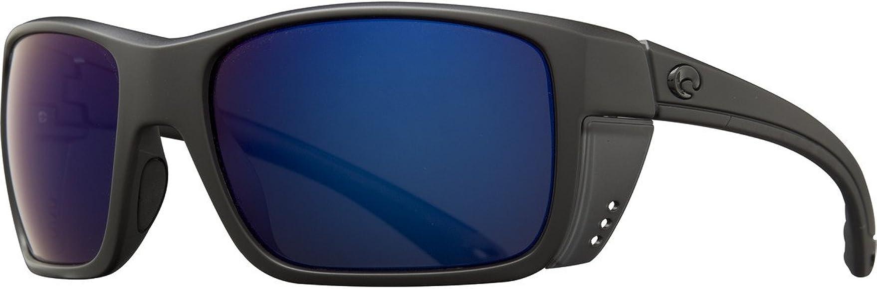 4df1d76fd Amazon.com: Costa Del Mar Rooster Sunglasses, Blackout, Blue Mirror 580  Plastic Lens: Costa Del Mar: Shoes