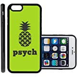 RCGrafix Brand Psych Pineapple Generic & Compatible with iPhone 6 Plus Protective Cell Phone Case Cover - Fits Generic & Compatible with iPhone 6 Plus
