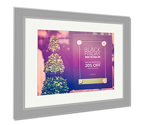 Ashley Framed Prints Shopping On Black Friday, Wall Art Home Decoration, Color, 26x30 (frame size), Silver Frame, - Park Meadows Shopping Mall