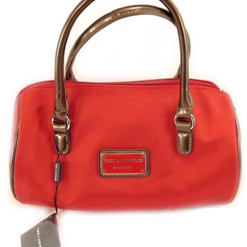 'french touch' tasche 'Ted Lapidus'rot.