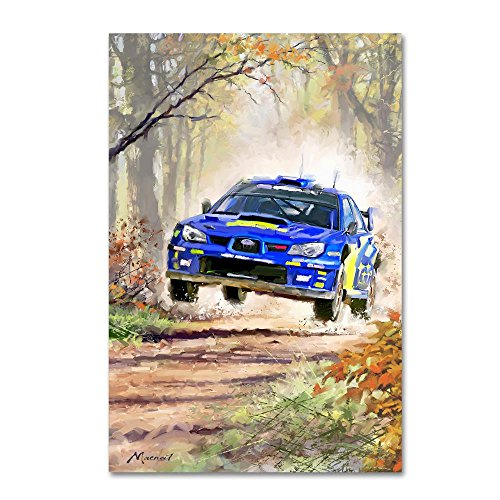 Rally Car by The Macneil Studio, 16x24-Inch Canvas Wall Art