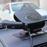 12v auto heater defroster - beler Universal Car 2 in 1 12V Portable Dryer Heater Fan Defroster Demister Windshield Heating Cooling Air Blower