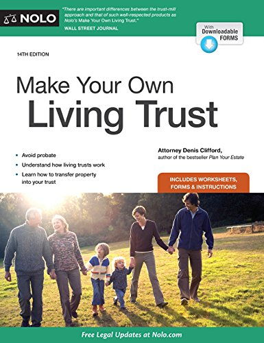 Pdf Law Make Your Own Living Trust