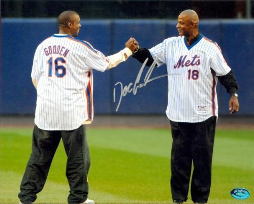 cture - Doc Gooden 8x10 Image #71 pictured at Shea Stadium Farewell) - Autographed MLB Photos (Autographed Shea Stadium)