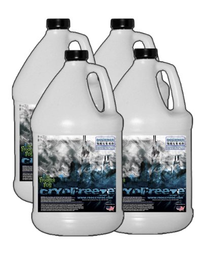 4 Gal - Cryofreeze - Low Lying Ground Fog Machine Fluid for Stage and Studio by Froggys Fog