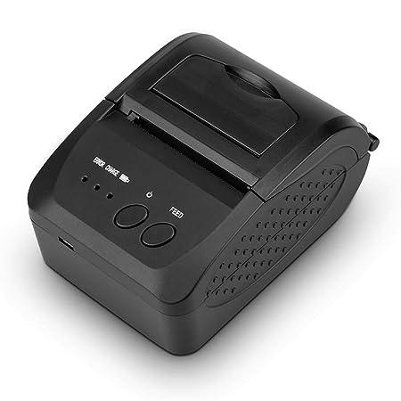 ZSLGOGO Impresora POS portátil, Bluetooth Wireless Impresora de ...