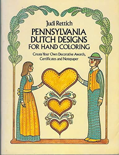 Pennsylvania Dutch Designs for Hand Coloring (Dover Pictorial archive ()