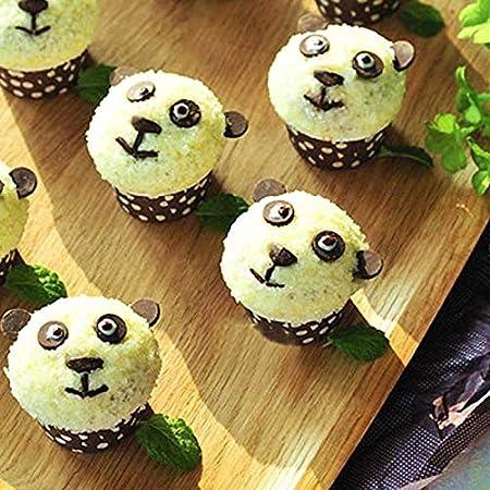 Ce Produit est pour la f/ête des m/ères Surprise pour F/ête des m/ères 480 PCS Papier Doublures De Tasse De G/âteau De Cuisson Tasse Muffin Cuisine Cupcake Cases CO LRWEY Moule /à Cake