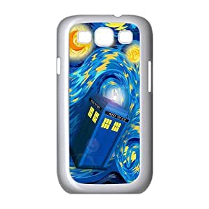 Samsung Galaxy S3 I9300 2D Customized Phone Back Case with Police Box Image