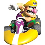 6 Inch Wario Super Mario Kart Wii Bros Brothers Removable Wall Decal Sticker Art Nintendo 64 SNES Home Kids Room Decor Decoration - 5 1/2 by 6 inches