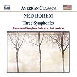 Rorem: Three Symphonies