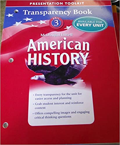 Amazon.com: American History: Transparency Book Unit 3
