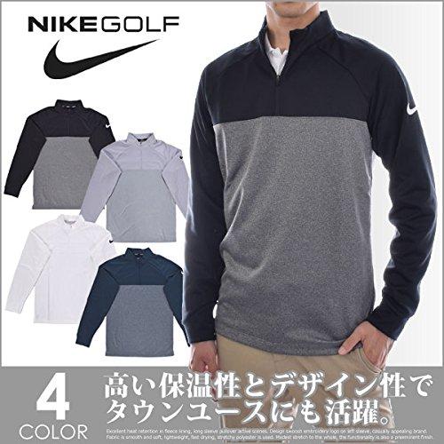 NIKE Therma Core Half-Zip Men's Golf Top (Armory Navy, Medium) -