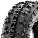 SunF A027 XC ATV UTV Knobby Sport Tire 22x7-11, 6 PR, Tubeless