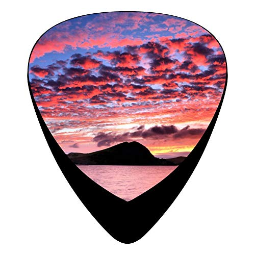 Amazing Sky Guitar Picks Celluloid 12 Pack Shape For Acoustic Guitar Mandolin Electric Guitar And Bass -