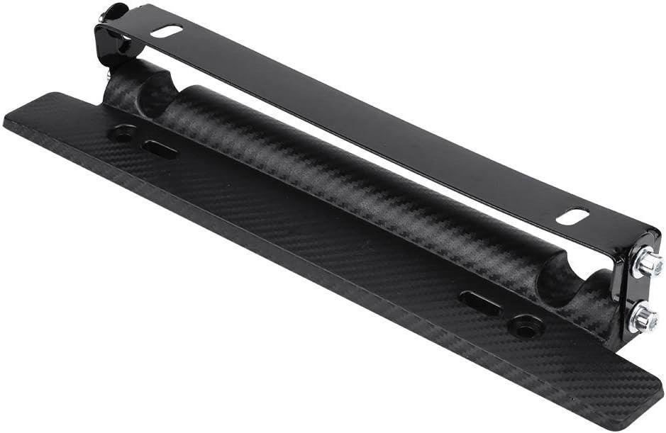 Staffa per targa staffa per supporto telaio telaio in fibra di carbonio regolabile universale per auto