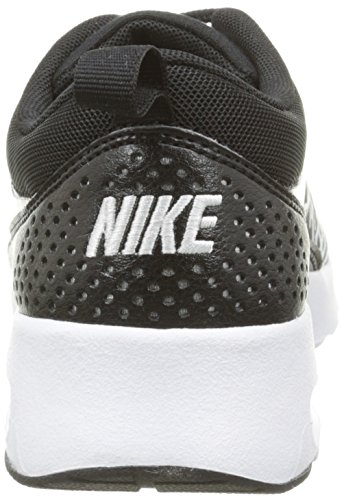 Nike Damen Wmns Air Max Scarpe Da Ginnastica Thea Print Schwarz (010 Nero-bianco-argento Mtllc)