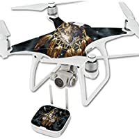 Skin For DJI Phantom 4 Quadcopter Drone – Wolf Dreams | MightySkins Protective, Durable, and Unique Vinyl Decal wrap cover | Easy To Apply, Remove, and Change Styles | Made in the USA
