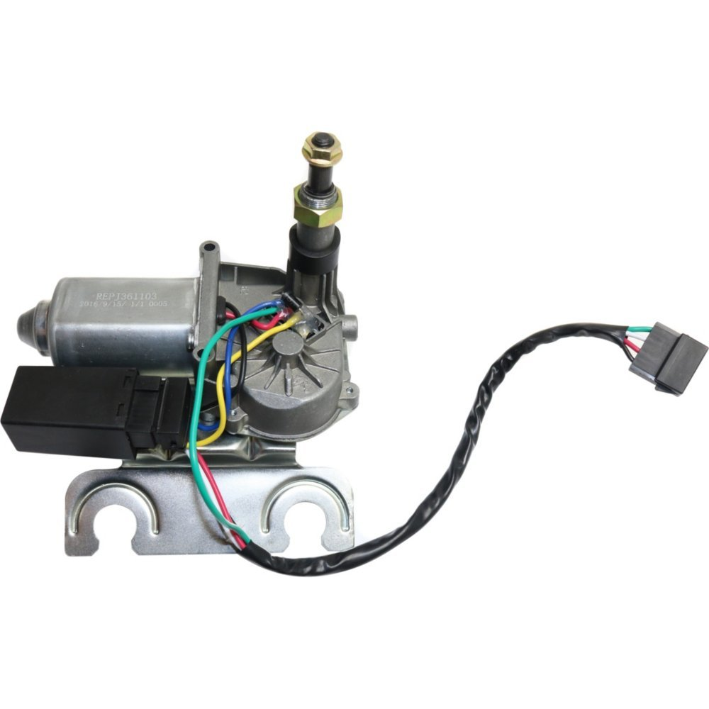 Evan-Fischer EVA3137209325 Wiper Motor Rear for Jeep Cherokee 97-01 New by Evan Fischer