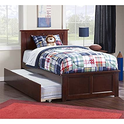 twin platform bed with trundle. Rosebery Kids Twin Platform Bed With Trundle In Walnut Twin Platform Bed Trundle M