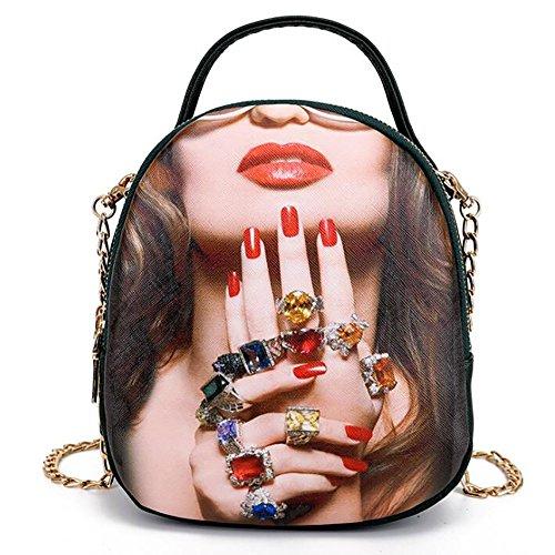 souple mode multifonctionnel décontracté sac à cuir sac des à de 17 femmes PU en Le main dos 10 21cm sac OBnx7PIv