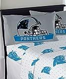 """Northwest NFL Carolina Panthers """"Monument"""" Full Sheet Set #843595060"""