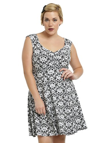 The Nightmare Before Christmas Rockabilly Dress Plus Size