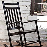 Adult Rocking Chair Finish: Black