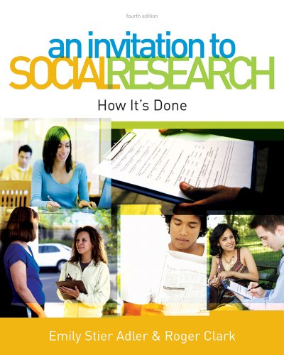 Download An Invitation to Social Research: How It's Done Pdf