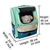 CozyCabin Pet Carrier Backpack,Latest Style Comfortable Dog Cat Travel Carrier Bag for Dogs Carrier Bike Hiking Outdoor (Green)
