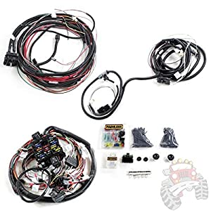 painless wiring harness jeep cj5 painless image amazon com painless performance wiring pre terminated wire on painless wiring harness jeep cj5