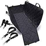 URPOWER 100%Waterproof Dog Seat Cover Car Seat Cover for Pets Seat Cover Hammock Heavy Duty Scratch Proof Nonslip Durable Soft Pet Back Seat Covers for Cars Trucks and SUVs