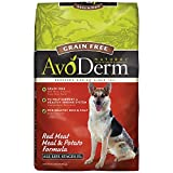 AvoDerm Natural Grain Free Red Meat Meal and Potato Formula Dog Food, 24-Pound