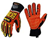 Seibertron High-Vis SDX2 Resistant Reducing Anti-Impact Mechanics Heavy Duty Safety Rescue Gloves CE EN388 4232 M