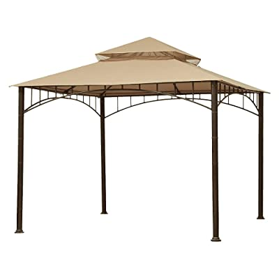 Garden Winds Replacement Canopy for Target Madaga Gazebo, Beige: Garden & Outdoor