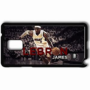 Personalized Samsung Note 4 Cell phone Case/Cover Skin 14891 lebron james mvp by ssp0929 d4zt9hc Black