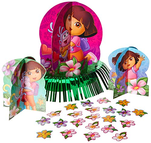 Table Decorating Kit | Dora's Flower Adventure Collection | Party Accessory