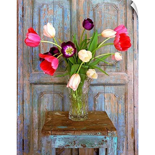 (CANVAS ON DEMAND Tulips, Mexico Wall Peel Art Print, 19