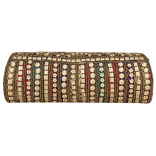 Dense for Hand Style Beaded Women amp; Clutch Sizzling Rajasthani Cherish Girls Color Wedding Cum rpAr8qx