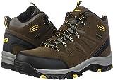 Skechers Men's Relment Pelmo Hiking Boot, khk, 8 Wide