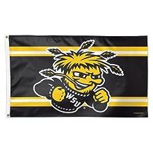 NCAA Wichita State 02370115 Deluxe Flag, 3' x 5'