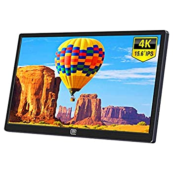 Image of 15.6 Inch 4K Portable Monitor,Eleduino 3840×2160 UHD IPS USB C Mobile Display Gaming Monitor with Type-C Mini HDMI for Laptop PC MAC Phone Xbox PS4 Nintendo Switch Monitors