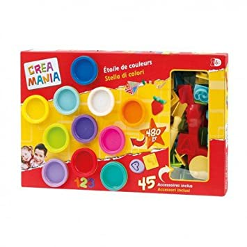 Coffret Pâte A Modeler Etoile Creamania Art Amazoncouk Toys Games