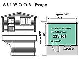 Allwood Escape   113 SQF Cabin Kit