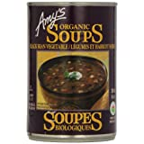 Amy'S Kitchen Organic Black Bean Vegetable Soup, 398 ml