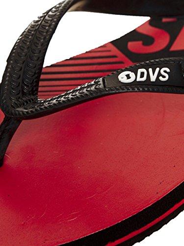 DVS Flip-Flops Marbella Rot Schwarz