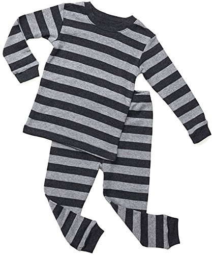 Cotton Striped Pajama Set - 8